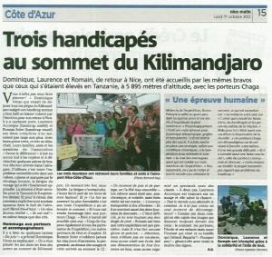 article kilimanjaro Vpro